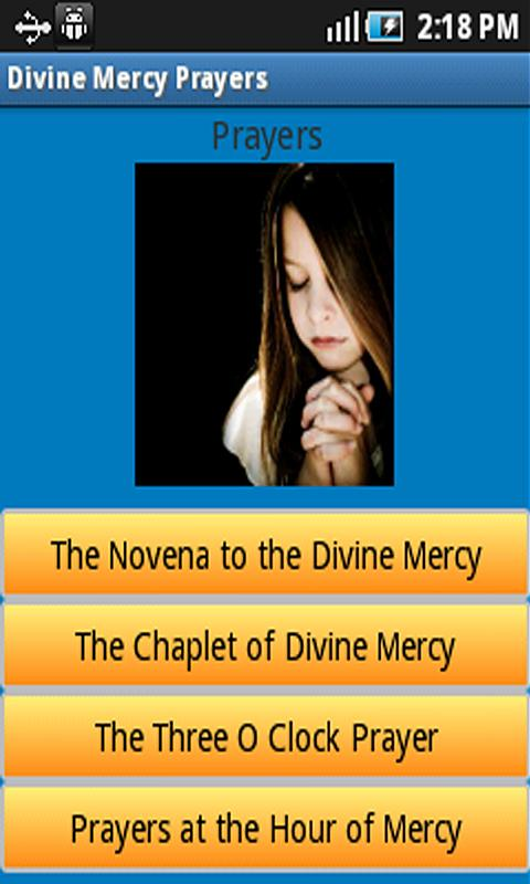Free Divine Mercy Android App