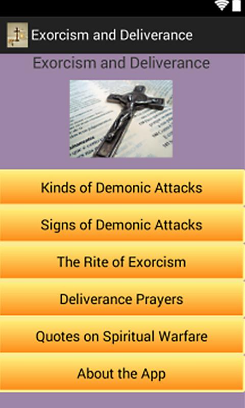 Free Exorcism and Deliverance Android App