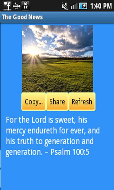 Free Good News Android App