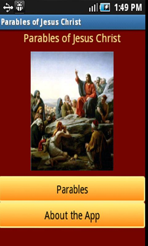Free Parables of Jesus Christ Android App