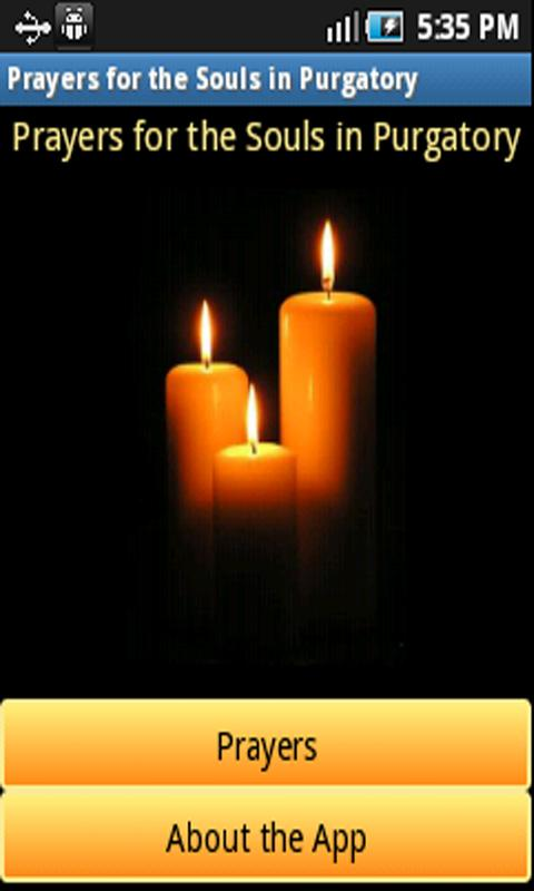 Free Prayers for the Souls in Purgatory Android App