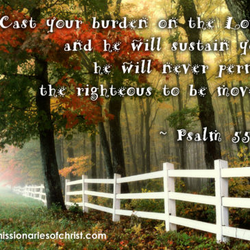Cast Your Burden on the Lord