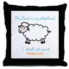 the_lord_is_my_shepherd_throw_pillow